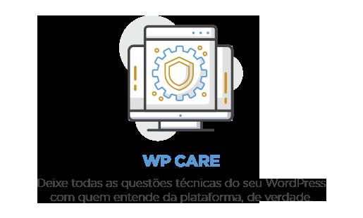 Sustentação WordPress para um site sempre seguro, atualizado e em constante evolução.